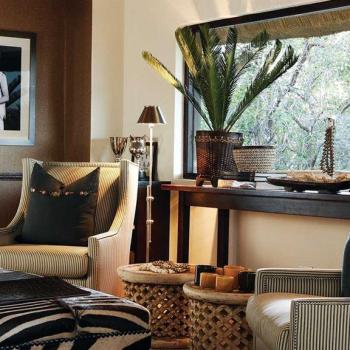 Londolozi Pioneer Camp Accommodation Luxury Suite Lounge