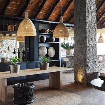 Londolozi Private Granite Suites Accommodation Bar Area