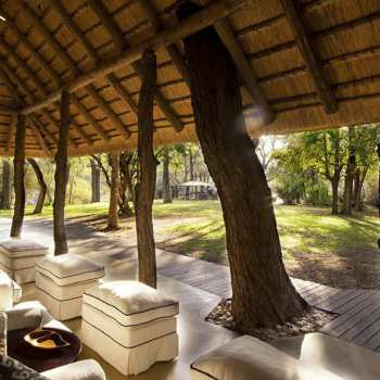 Dulini Lodge Patio With A View