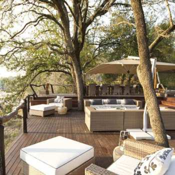 Dulini Lodge Viewing Deck Seating