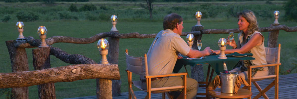 Mala Mala Game Reserve Sable Camp Private Dining