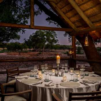 Ulusaba Safari Lodge Private Dining