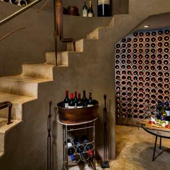 Ulusaba Safari Lodge Wine Cellar