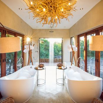 Sabi Sabi Bush Lodge Bathroom Panorama