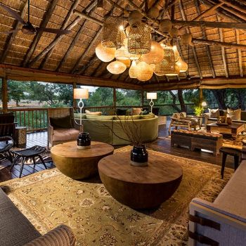 Sabi Sabi Bush Lodge Lounge Area