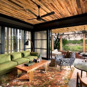 Tengile River Lodge Guest Lounge Area