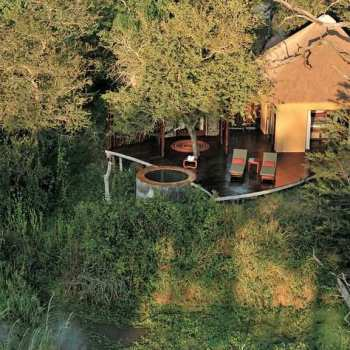 Djuma Vuyatela Lodge Accommodation Aerial View
