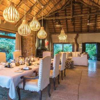 Leopard Hills Private Game Reserve Dining Area