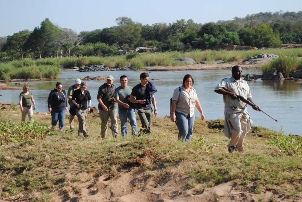 bush walk on 3 day kruger park safari sabi sands lodges reservations