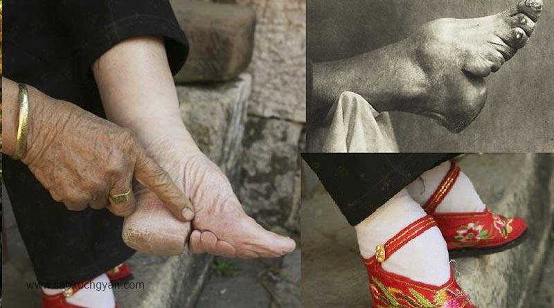 foot binding japan