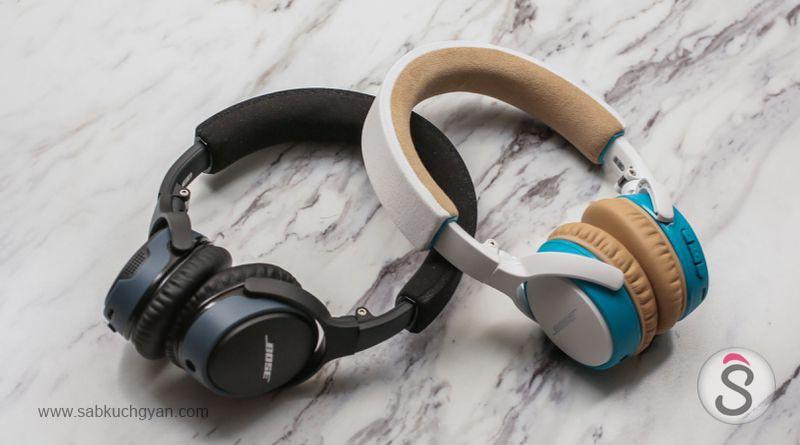 Bose SoundLink on-ear wireless headphones