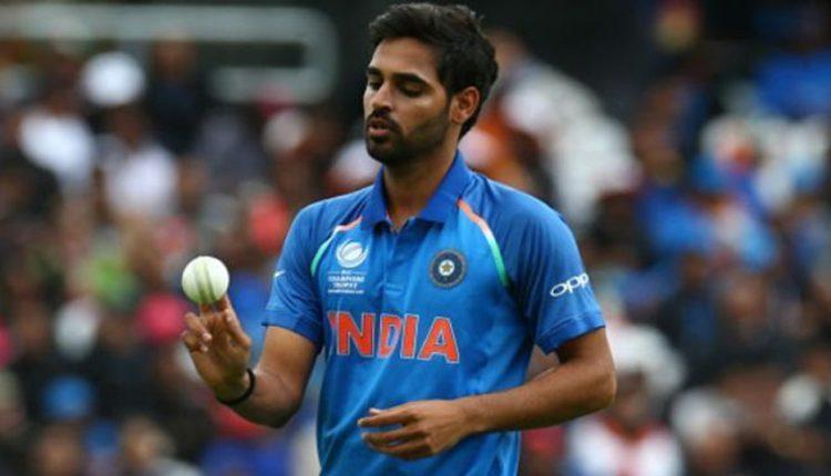 Indian cricketer Bhuvneshwar Kumar