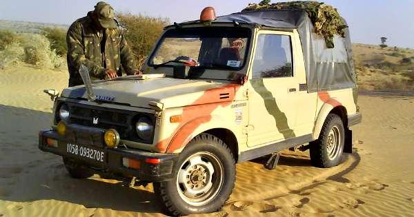 maruti gypsy indian army