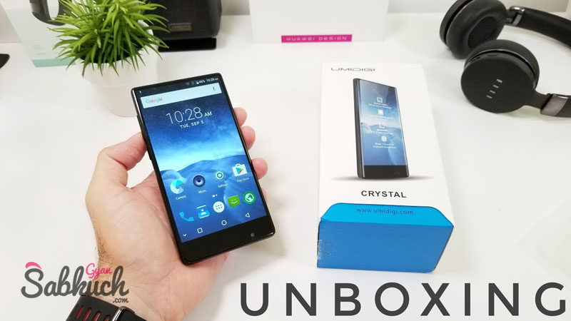 The Umidigi Crystal launch in India soon with 5100 mh battery and 18 pixels of these smartphones