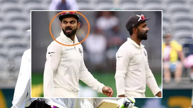 2ND TEST IND VS AUS VIRAT SLEDGING WITH TIM PAINE (1)