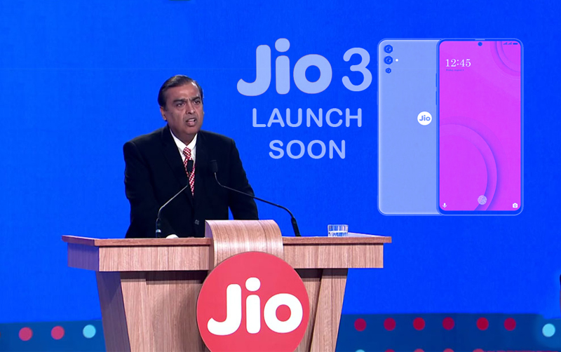 JIO PHONE 3 LATEST LAUNCH FROM RELIANCE JIO