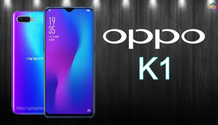 OPPO K1 Inc Black Color variant launched