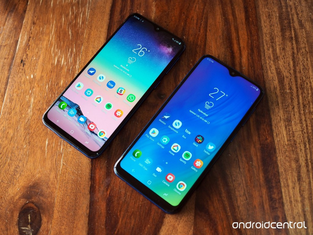 Samsung's low-ranging smartphone, Amazon will be available on Samsung SMARTPHONES