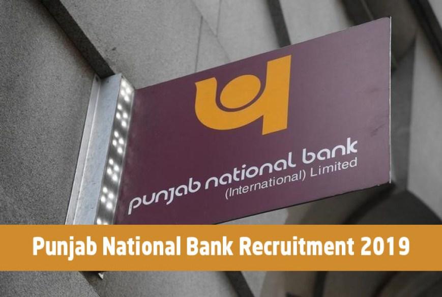 Punjab National Bank Recruitment 2019 Last Date 15 feb 2019