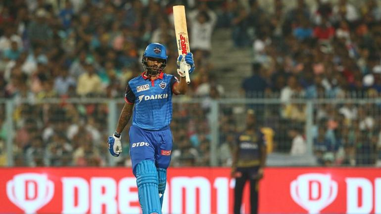 IPL 2019 Delhi's Kolkata Knight Riders make thrilling win, unbeaten 97 out of the century to Miss Dhawan