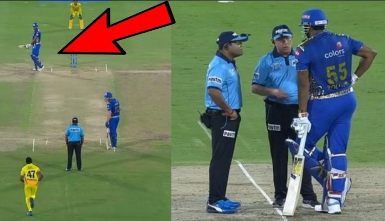 After all, why did Kieron Pollard bounce the ball against the umpires in the air and did his anger