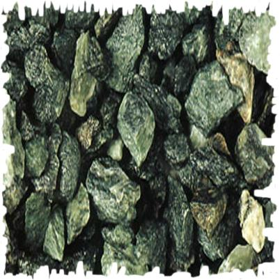 Gravier concass de marbre vert des Alpes