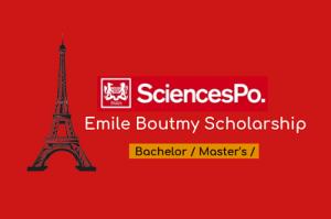 Émile Boutmy Scholarship