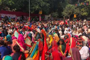 """Image result for Sansad Gherao in Delhi for Forests Rights"""""""