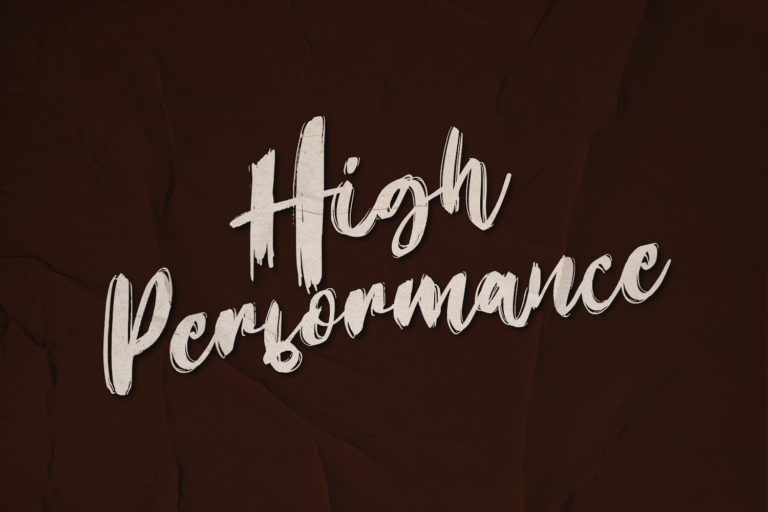 Preview image of High Performance