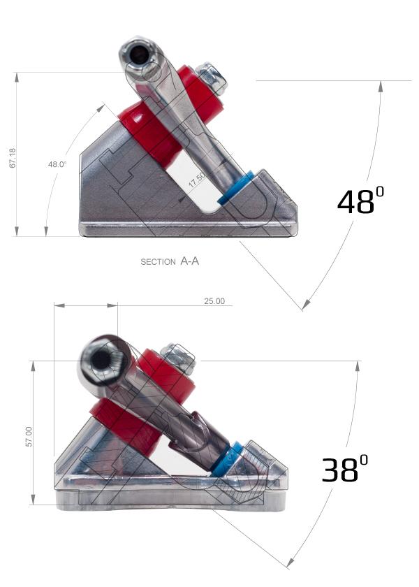 Image result for skateboard truck angle
