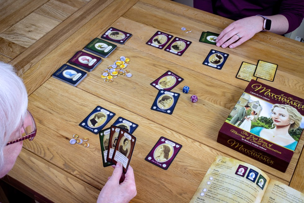 Playing Jane Austen's Matchmaker Card Game