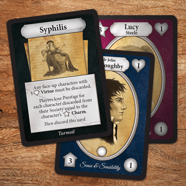 Syphilis Card Jane Austen