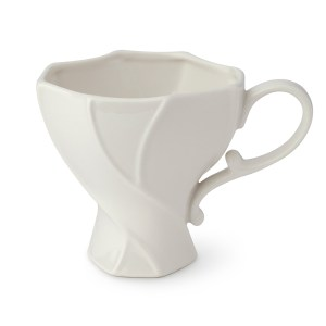 Set da 2 Tazze porcellana bianca