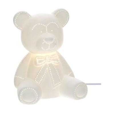 Lampada orsetto Porcellana