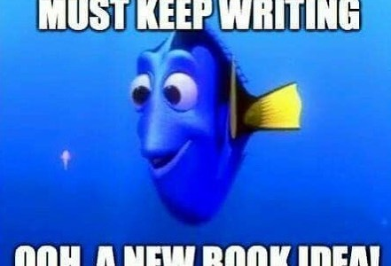 A day in an Author's life.