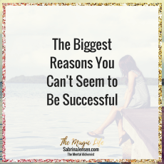 The Biggest Reasons You Can't Seem to Become Successful