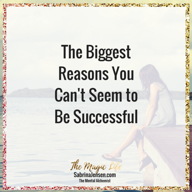 the biggest reason you can't seem to be successful