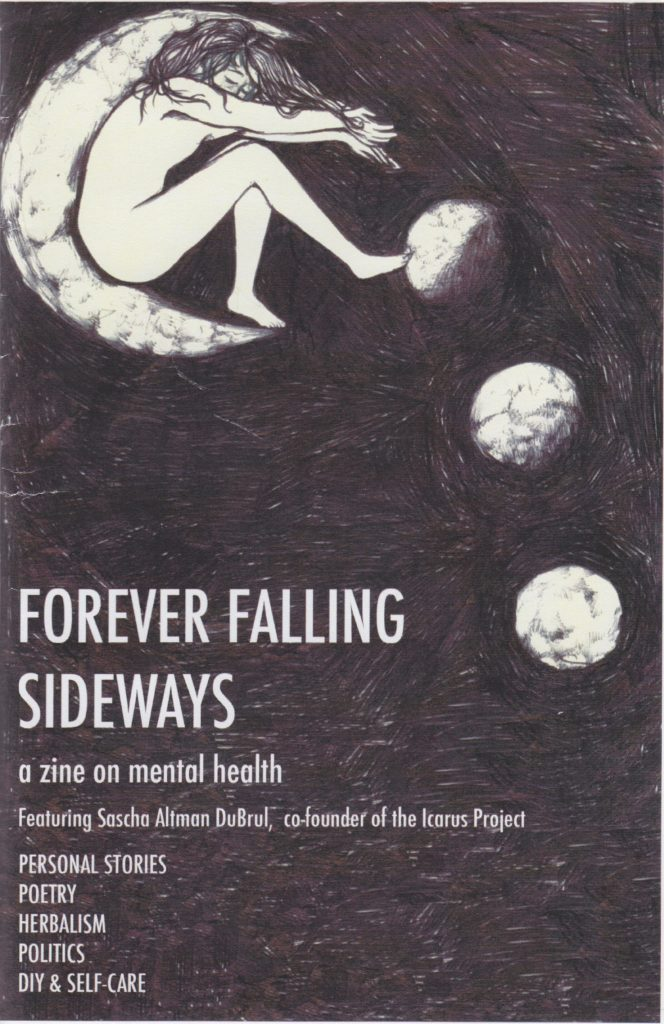 A to Zine: Forever Falling Sideways