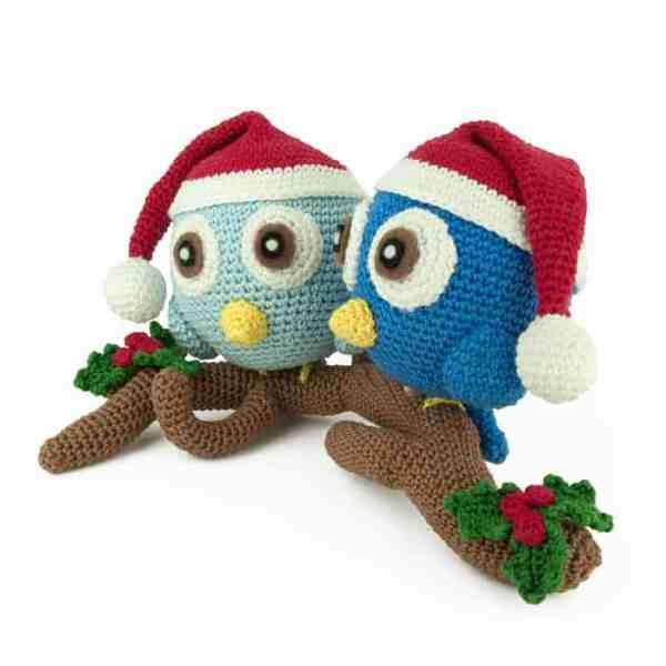 Hæklemønster Jul Pakke - Amigurumi