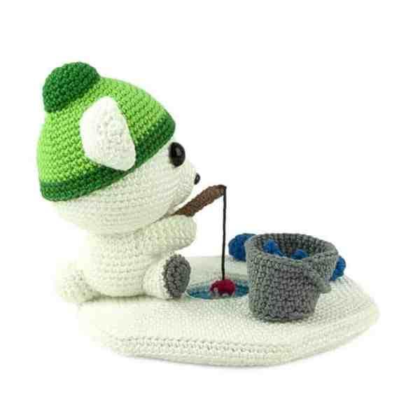 Crochet pattern Fisherbear