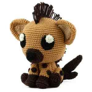 Patron au crochet Hyène - Amigurumi