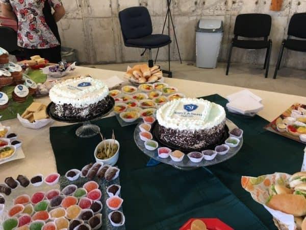 Catering cóctel celebración eventos tortas