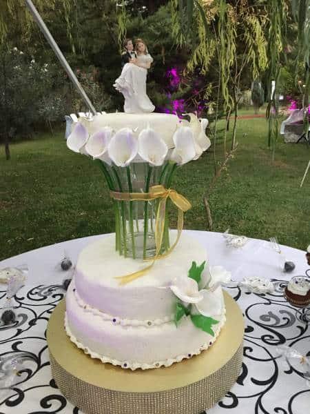 Torta de novios y Servicio Catering para María José y Victor