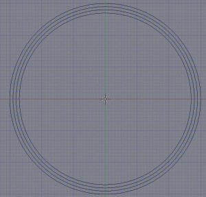 Four full circles
