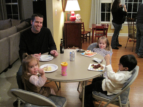 Image result for adult at kids table thanksgiving