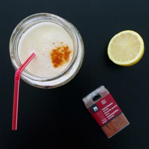 cayenne pepper lemonade