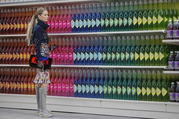 Chanel Supermarket (A/W 14/15) [Image credit: BuzzFeed]
