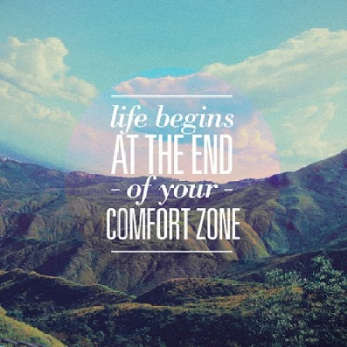 comfort zone quote, motivational quote, quote of the day, inspirational quote, life quote