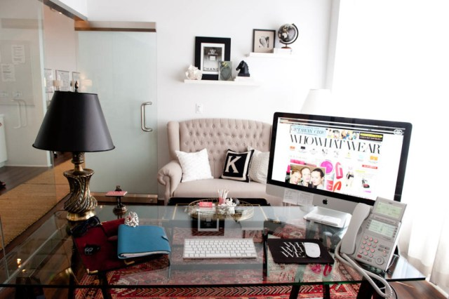 who what wear inspiring workspace