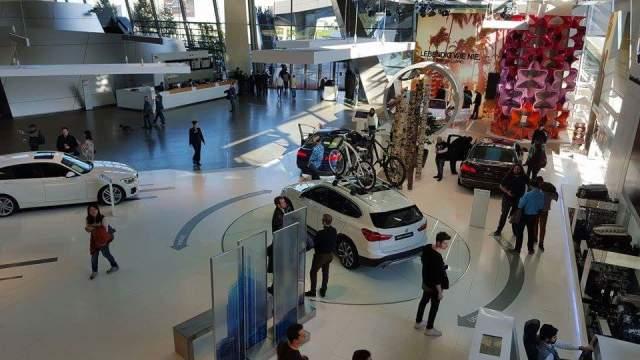BMW Welt Munich overview